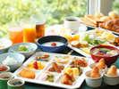 朝食バイキングイメージ(和食中心でチョイス)