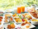 朝食バイキングイメージ(洋食中心でチョイス)