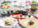 洋食料理春6,000円相当盛付けの一例2017