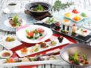 洋食料理春10,000円相当盛付けの一例2017