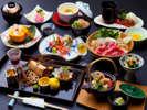 十三の風秋会席~松茸の土瓶蒸し・松茸ご飯など秋の味覚満載♪