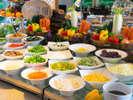 <朝食ブッフェ>サラダバーはどこも同じと思っていませんか?新しい野菜の味に出逢える【ラグ菜畑】