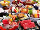 【個室食】四季彩・基本会席(一例)