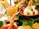 【美食会席】良質な食材を使用した和食会席