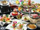 皿鉢料理と土佐風会席【3~5月の内容となっております】