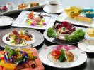【旅館deフレンチ】食べ比べが楽しい創作感溢れる春の土佐フレンチ。牛フィレ肉のローストにオマールエビ