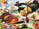 【藁焼きカツオの7種味比べ土佐風会席】カツオ好きにはたまらない、カツオを7種の味で存分にご堪能!