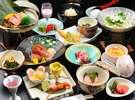 【銀山荘】一つずつ丁寧に仕上げる食事は彩りも鮮やか