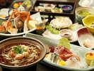 【夕食】お得プラン専用海幸満載の海鮮会席(春・夏)