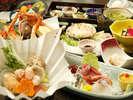 【夕食】お得プラン専用海幸満載の海鮮会席(秋・冬)