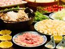 秋田地場産の食材・調理法にこだわった30種類以上のビュッフェメニュー