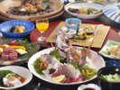 ~会席料理~ 瀬戸内の食材をふんだんに使用しています。