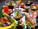 【会席料理一例】季節の旬を愉しむことができる会席料理です