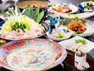 ■虎河豚三昧■ふく・フク・福尽くし♪/10~3月4名様盛り料理一例