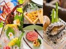 ■美味礼賛会席■ 味わうほどに満たされていく、一口一口の贅をその舌で♪/料理一例