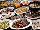 【秋夕食】秋が旬の食材たっぷり!素材の旨みを引き出した色合いも美しい秋薫るディナービュッフェ