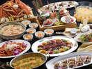 【年末年始夕食】年末年始を彩る豪華なディナービュッフェ!贅沢なご夕食をご堪能ください。