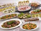 【春夕食】彩り、味、香り全てが春らしく華やかなお料理が並ぶ『春の長崎ディナービュッフェ』
