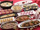 【冬の味覚ディナービュッフェ】心も身体も温まる!シェフの創作料理がズラリと並ぶ冬のディナー♪