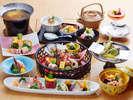 【和食会席料理】一例料理長のこだわりが垣間見えます。