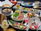 旬菜旬魚を使用した季節の和会席