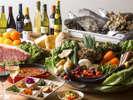 """新鮮な食材だけを使って、お客様に""""感動""""と食材本来の""""美味しさ""""と贅沢なひとときをお届けいたします。"""