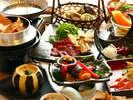 旬の味覚盛りだくさん♪和食会席料理をご堪能ください。