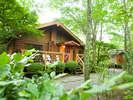 由布の森と水の恵み 全室離れ 別荘どんぐり:写真