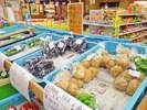 <塾の市>旬の野菜や果物、津幡米、地酒、工芸品などの直売市