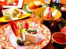 【夕食】お部屋食プランお造り一例
