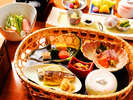 【露天風呂付き客室専用朝食】一例