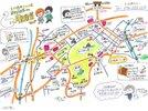 【オリジナル散策マップ】初めての方も安心!手作りマップがご観光をサポートいたします。