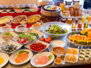 ◆朝食ビュッフェ◆コンセプトは≪美食と健康♪≫有機野菜をたっぷり取り揃えた自慢の朝食☆ミ