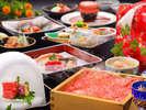 【やまがた味覚御膳】特選米沢牛を使用し、量より質を追求した山形のオイシイがギッシリ詰った味覚御膳。