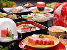 【米沢牛ステーキプラン】(一例)※季節により内容が異なります。