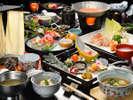 【冬の懐石】テーマは「薄雲」四季ごとに変化する食材を最大限に活かしたお料理をご賞味ください。