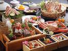 【冬物語コース】かに料理と但馬牛が両方楽しめるコース!☆11/6~3/31まで☆