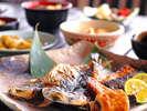 焼き立ての干物、アツアツの出汁巻に舌鼓♪彩/和朝食ブッフェ