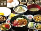 別亭レストラン「板前料理 旬」和食中心のバラエティ豊かなメニューです。