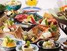 レストラン四季 季節の旬菜を盛り込んだ和会席をお愉しみください ~イメージ~