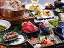 ◆季節の旬菜を使った献立をお楽しみください。