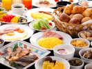 【朝食】「ベジダイニングG-cafe」和洋バイキング(イメージ)