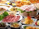 【夕食】「ベジダイニングG-cafe」和洋バイキング(イメージ)