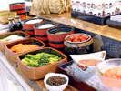 【コスモス(朝食)】朝食バイキングにはごはんのお供がいっぱい