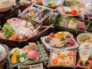 ≪春の宝石箱会席-2017年≫厳選食材をご用意した当館最高級会席でございます。