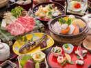 ≪春の味覚会席-2017≫山女の甘露煮などリーズナブルでも季節の旬を楽しめる会席です。