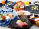 夕食は蝦夷鮑や和牛ステーキ付き会席♪日本料理 宝ヶ池夕食付プランイメージ