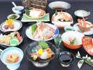 11月~3月◆冬の山陰地方と言えば蟹料理!「満足三昧 蟹会席」