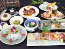 4月~7月◇日本海の魚介を盛ったお造りや鳥取県産牛肉のステーキなどおもてなしメニュー♪「雅会席」