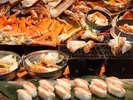 ■☆11/1~4/8 かに祭り開催☆ゆで蟹、蟹すき鍋、焼き蟹、蟹寿司などご用意!